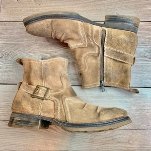 bed stu | Brown Suede Leather Men's Boots | 10